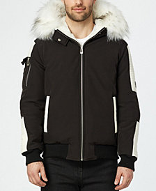 NOIZE Men's Alex Bomber With Quilted Trim