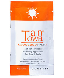 Receive a FREE Classic Towelette with any $30 TanTowel purchase