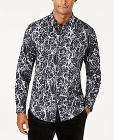 I.N.C. Men's Paint Splatter Shirt, Created for Macy's