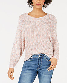 American Rag Juniors' Textured Batwing Top, Created for Macy's