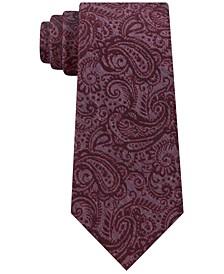 Men's Embossed Look Paisley Tie