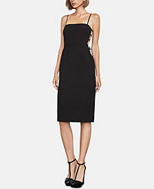 BCBGMAXAZRIA Esmee Strappy-Back Dress