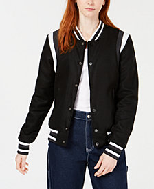 Reason Black Varsity Jacket