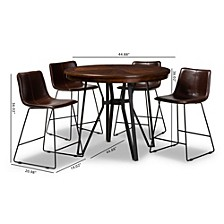 Carvell 5 Piece Pub Set