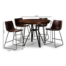 Carvell 5 Piece Pub Set, Quick Ship