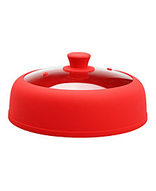 Bezrat Silicone & Glass Microwave Plate Cover