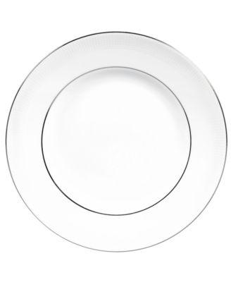 Dinnerware, Blanc sur Blanc Dinner Plate