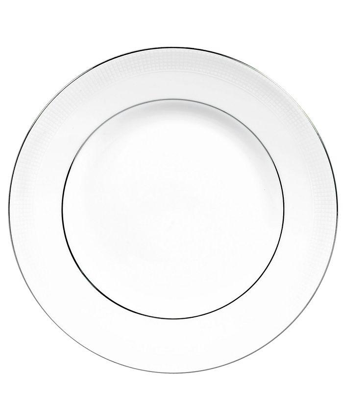 "Vera Wang Wedgwood - Vera Wang ""Blanc sur Blanc"" Dinner Plate"