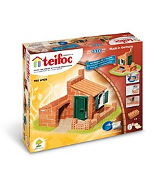 Teifoc House Water Mill Brick Construction Set