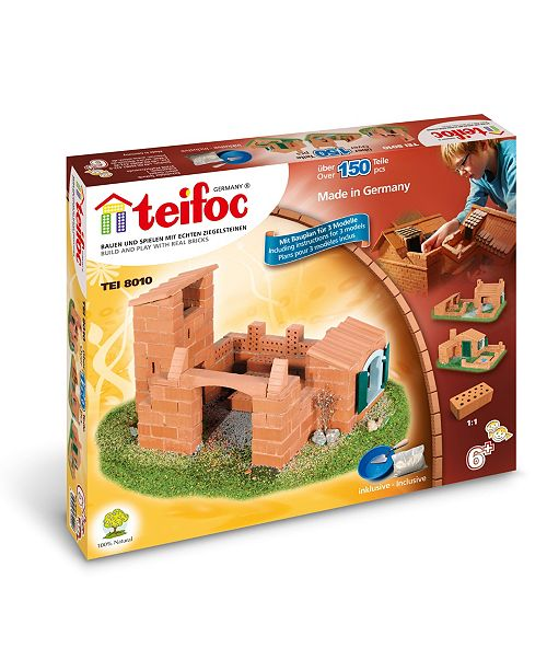 Eitech Teifoc Beginner Brick Construction Set