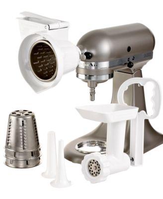 kitchenaid kgssa gourmet stand mixer attachment kit - electrics
