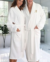 Linum Home Personalized 100% Turkish Cotton Terry Bath Robe 46644af73