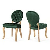 Superb Green Glam Kitchen Dining Room Chairs Macys Dailytribune Chair Design For Home Dailytribuneorg