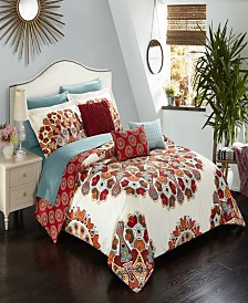 Chic Home Aberdeen 8 Piece Twin Bed In a Bag Comforter Set