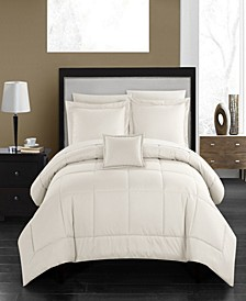 Jordyn 8 Piece King Bed In a Bag Comforter Set