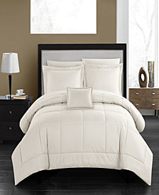 Chic Home Jordyn 8-Pc. Bed In a Bag Comforter Sets