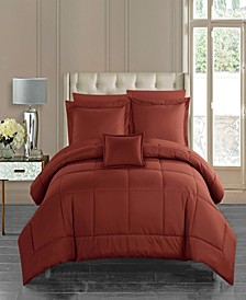 Jordyn 6 Piece Twin Bed In a Bag Comforter Set