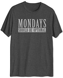 Optional Mondays Men's Graphic T-Shirt