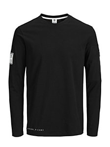 Jack & Jones Men's Band Long Sleeve Tshirt
