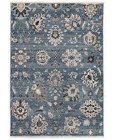 """Liora Manne' Calais 6079 Vintage Floral 3'3"""" x 4'10"""" Area Rug"""