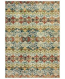 "Oriental Weavers Dawson 7341B Multi/Ivory 6'7"" x 9'6"" Area Rug"
