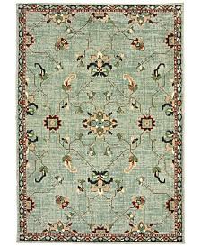 "Oriental Weavers Dawson 8262C Blue/Teal 7'10"" x 10'10"" Area Rug"