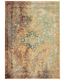 "Oriental Weavers Dawson 8324A Rust/Gold 6'7"" x 9'6"" Area Rug"