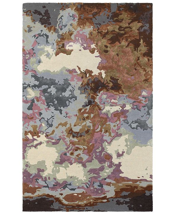 Oriental Weavers Galaxy 21905 Blue/Brown 8' x 10' Area Rug