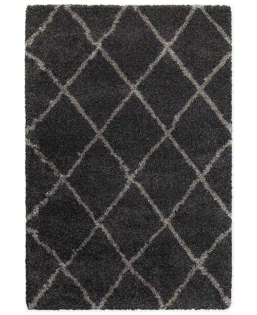 "Oriental Weavers Henderson Shag 090 5'3"" x 7'6"" Area Rug"