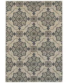"Oriental Weavers Highlands 6677A Beige/Gray 9'10"" x 12'10"" Area Rug"