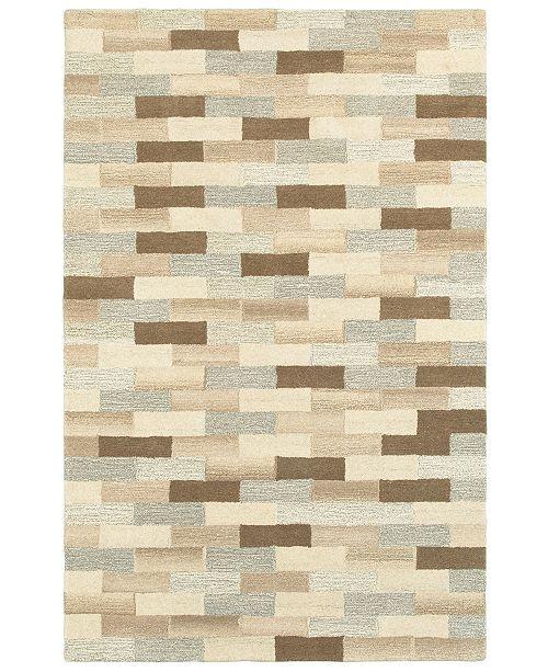Oriental Weavers Infused 67006 Beige/Gray 8' x 10' Area Rug