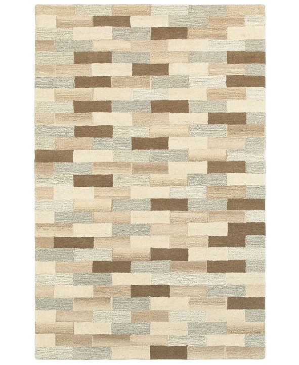 Oriental Weavers Infused 67006 Beige/Gray 10' x 13' Area Rug