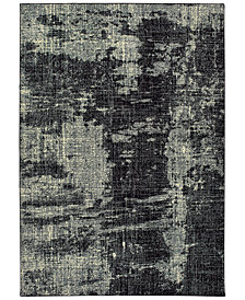"Oriental Weavers Luna 1805K Black/Ivory 5'3"" x 7'6"" Area Rug"