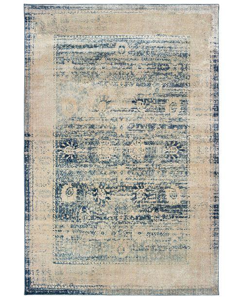 "Oriental Weavers Pandora 1444H Ivory/Blue 6'7"" x 9'6"" Area Rug"