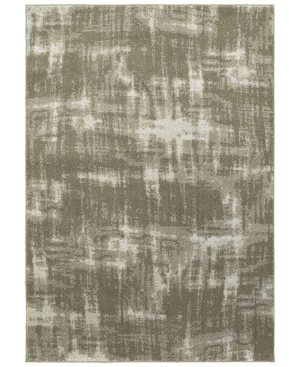 "Oriental Weavers Rowan 565H Gray/Ivory 3'10"" x 5'5"" Area Rug"