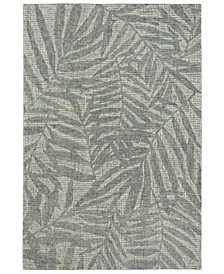 """Savannah 9500 Olive Branches 2' x 7'6"""" Runner Area Rug"""
