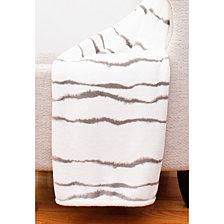 "Fincherprinted Loft Fleece Decorative Throw, 50"" x 60"""