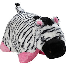 Pillow Pets Signature Zippity Zebra Stuffed Animal Plush Toy