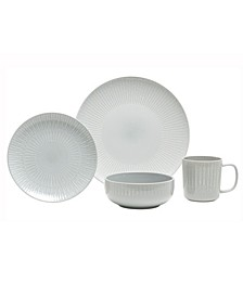 Optic 16 Piece Dinnerware Set