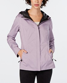 32 Degrees Water-Resistant Hooded Raincoat