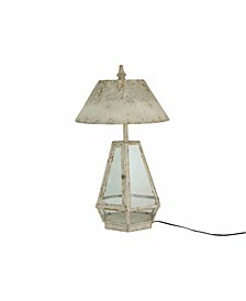Terrarium Lamp w/Metal Shade