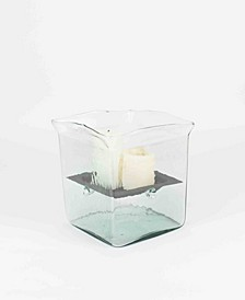 Square Giant Candle Hurricane