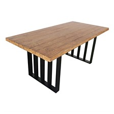Kantor Outdoor Dining Table, Quick Ship