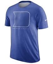 finest selection dc148 b6746 Nike Men s Duke Blue Devils Marled Legend Player T-Shirt