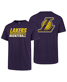 '47 Brand Men's Los Angeles Lakers Fade Back Super Rival T-Shirt