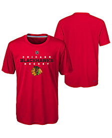 Outerstuff Chicago Blackhawks Avalanche T-Shirt, Big Boys (8-20)