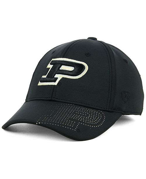 designer fashion 1a1e4 329f7 ... Top of the World Purdue Boilermakers Pitted Flex Cap ...