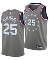 e83e4121510 Nike Men s Ben Simmons Philadelphia 76ers City Swingman Jersey 2018