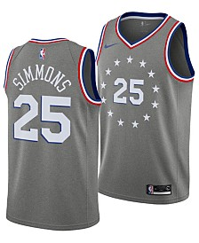Nike Men's Ben Simmons Philadelphia 76ers City Swingman Jersey 2018