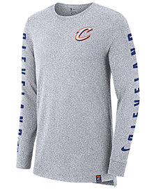 Nike Men's Cleveland Cavaliers City Elevated Long Sleeve Dry T-Shirt